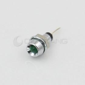 3V 綠色 LED指示燈(小) 牙6mm