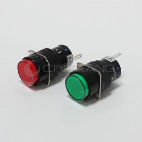 TN16 12V圓形指示燈綠色