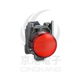 SCHNEIDER 22φ指示燈 紅色 24V