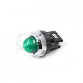 25ψ圓形指示燈-綠色 220V氖氦燈泡 傳統型
