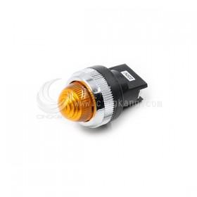 25ψ圓形指示燈-黃色 220V氖氦燈泡 傳統型