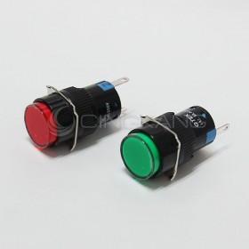 TN16 220V圓形指示燈紅色