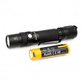 FENIX FD30 聚焦/ 調焦手電筒 900流明(贈18650電池*1)