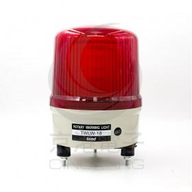 180ψ旋轉警示燈 紅色LED AC 110V 出線