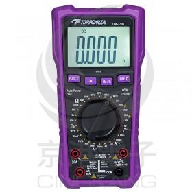 DM-3301 3 5/6真有效值數字萬用錶