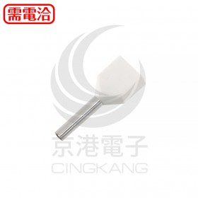 1506 KSS 雙線套歐式端子 EW0.75-8WE白色 (100入/包)