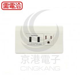 國際牌 Panasonic WNF1072W 埋入式USB 充電雙插座