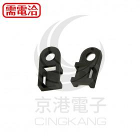 KSS 0510 紮線固定座 HC-0BK 黑色 最大紮線帶寬度5.2mm(100PCS/包)