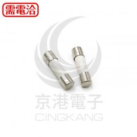 20mm  5A 250V 陶瓷保險絲管 鐵頭-有安規