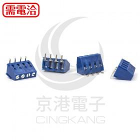 4P 連接器 10A300VDC 藍色