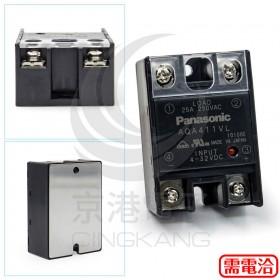 Panasonic SSR AQA411VL 輸出25A 75-250V輸入4-32V