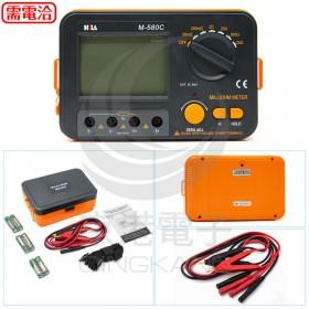 M-580C 數字微電阻計