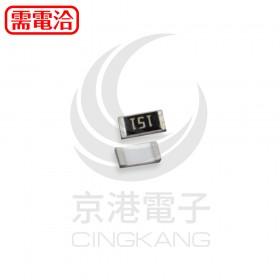 SMD電阻 1206 150R (100PCS/捲)