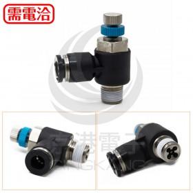 PISCO JSC6-01AH 氣管接頭