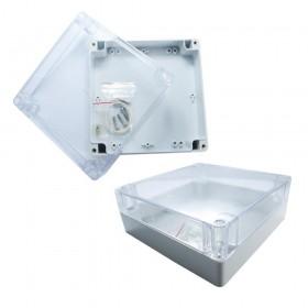 ABS材質 透明上蓋防水盒160x160x60mm G287C