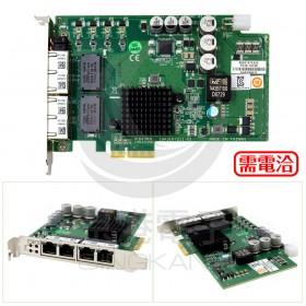 PCIE-1674E-AE 4-port PCI express GbE card