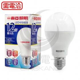 東亞 12W LED球型燈泡 LLA65-12AAD6 白光