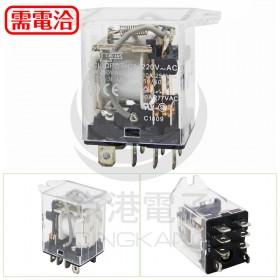 松川 SCL-DPDT 220VAC 繼電器