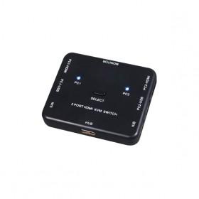 伽利略 HKVM2S HDMI 4K2K KVM 電腦切換器 2埠 電子式 切換器